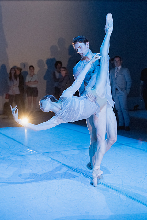 Alexandra MacDonald and Brendan Saye in The Dreamers Ever Leave You. Photo by Karolina Kuras.