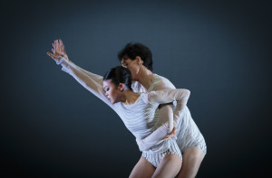 Riho Sakamoto and Cristiano Principato in Surfacing. Photo by Michel Schnater.