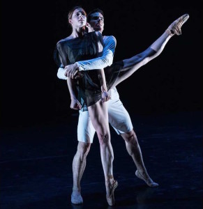 Emma Hawes and Felix Paquet in Orpheus Becomes Eurydice