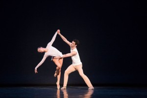 Calley Skalnik and Felix Paquet in Self and Soul. Photo by Aleksandar Antonijevic.